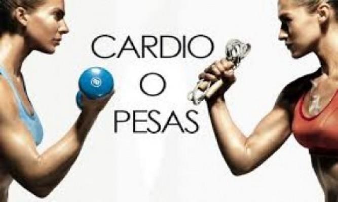 ¿Cardio o pesas, cuál debe ser primero?